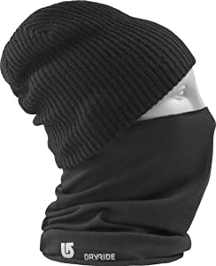 Burton Herren Schal 1Lyr MD Neckwarmer, True Black, One size, 10472100002