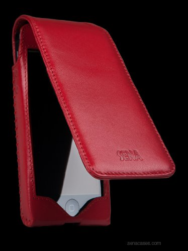 Special Sale Sena Sarach Flip for iPhone 5 - Red/Red - 825675