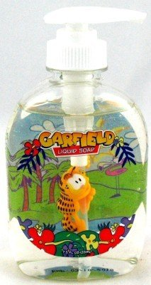 Dr. Fresh Garfield Liquid Soap Pump 220 ml (3-Pack)
