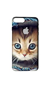 Animal Printed Designer Mobile Case/Cover For Apple iPhone 7 Plus With Logo