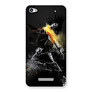 Ajay Enterprises Abstract Dance Back Case Cover for Micromax Hue 2