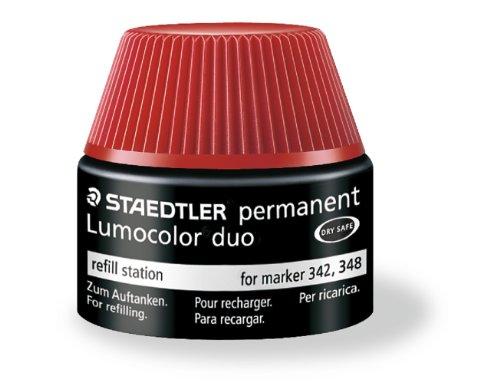 Staedtler Encre de recharge pour marqueur Rouge