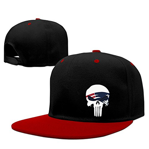 zoeystyle-punisher-with-new-england-patriots-hip-hop-baseball-caps