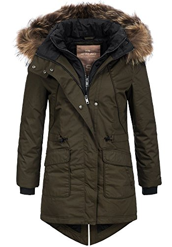 damen winterparka mit fell kapuze preisvergleiche. Black Bedroom Furniture Sets. Home Design Ideas