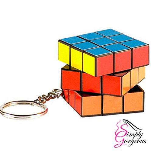 zauberw rfel rubiks cube puzzle schl sselanh nger. Black Bedroom Furniture Sets. Home Design Ideas