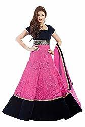 Dharmnandan Tex Women Salwar Suit Dress Material (DT006_Pink)