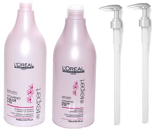 new-serie-expert-by-loreal-professional-vitamino-colour-aox-shampoo-conditioner-salon-size-with-pump