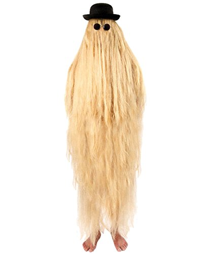 [Hairy Cousin It Mens Costume] (Cousin It Addams Family Costume)