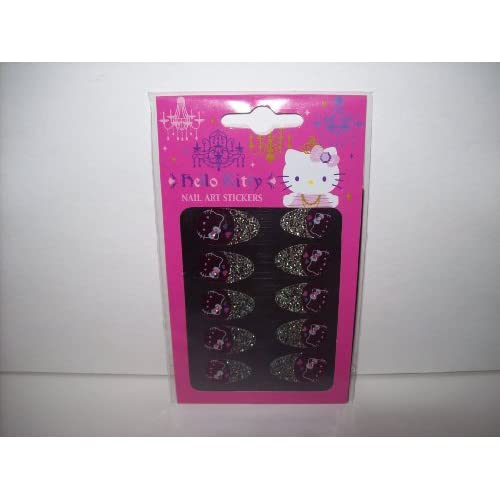 Hello Kitty French Nail Art Stickers Manicure