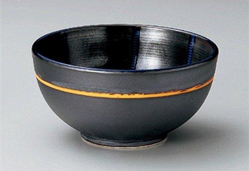 Tetsu-Glaze-Togusa Jiki Japanese Porcelain Ramen-Bowl For Udon,Soba,Teriyaki-Bowl Or Salad Made In Japan
