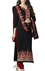 ANKAN Fashions Embroided Salwar Suit dressmaterial AN002
