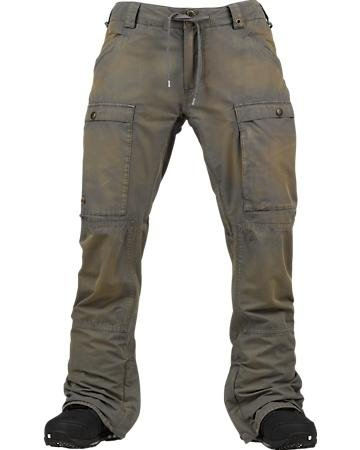 Burton Restricted Wiggle Wgn Slim Pan - Color:Washed Canteen - Talla:M - 2014