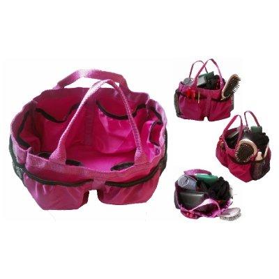 Big Handbag Organiser, Bag Liner, Bag Insert or Make-Up Organiser - L30cm H16.5cm D19cm - Purple