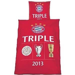 FC Bayern München Bettwäsche Triple 2013