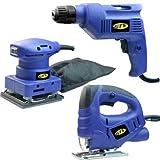 Jinding Electric Tools Group 3pc Ac Combo KIT GTV 3 Piece Combo KIT