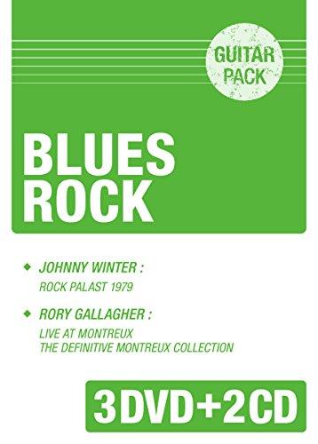 ブルース・ロック~「ジョニー・ウィンター/灼熱のブルース・ギター!~ロック・パラスト1979」+「ロリー・ギャラガー/ライブ・アット・モントルーアンソロジー」 [DVD]