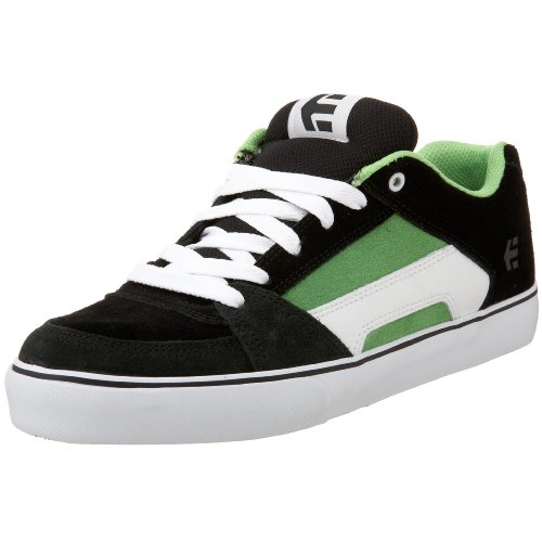 Etnies Men's RVL Skateboarding Shoe Black/Green/White 4101000240 7 UK