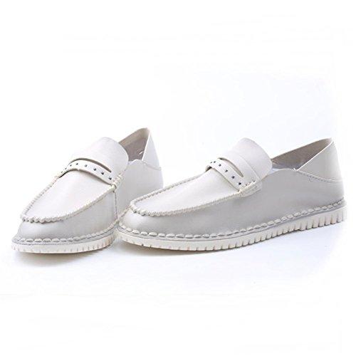 WalkWalk Men Ruber Pu Cloth Breathable Summer Fashion Leisure British Style Doug Shoes