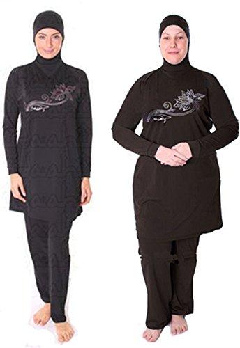 YEESAM-Muslim-Clothing-Swimsuit-Modest-Women-Full-Cover-Beachwear-Islamic-Black