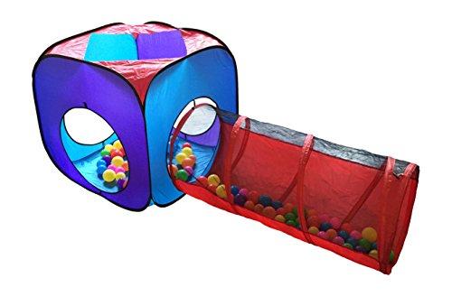 Home ...  sc 1 st  Epic Kids Toys & 4pc Pop Up Children Play Tent w/ 2 Crawl Tunnel u0026 2 Tents - Kids ...