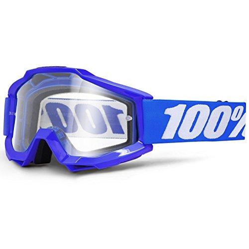 100% ACCURI Cross goggles - Reflex Blue - Blue, UNI