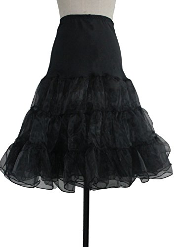 "50s Vintage Rockabilly Net Petticoat Skirt Tutu ,26"" Length"