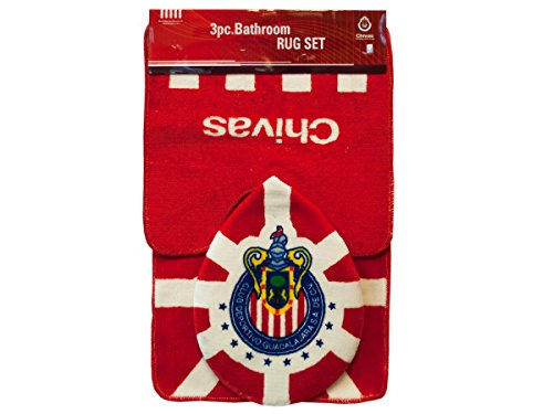 3 PC SETS:CHIVAS BATHROOM RUGS - 1