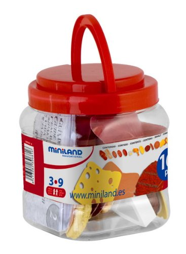 Miniland Delicatessen Assortment - 16 Pieces/Jar (Cheese Delicatessen compare prices)