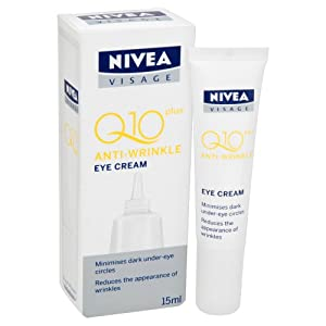 NIVEA Visage Anti-Wrinkle Q10 Plus Eye Cream 15ml