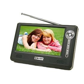 Axion AXN-8705 7-Inch Widescreen Portable LCD TV (Black)