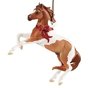 2011 Breyer Beautiful Breeds Series Mustang Holiday Horse Ornament 9th Christmas