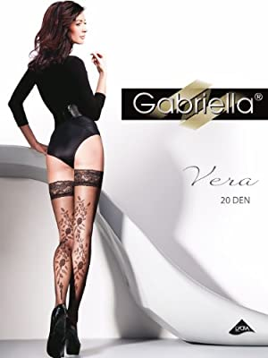 Gabriella - Exklusive Gemusterte Danem Strümpfe - Vera