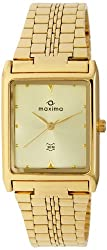 Maxima Analog Gold Dial Mens Watch - 06091CMGY
