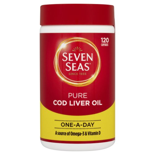 Seven Seas One A Day Pure Cod Liver Oil 120 capsules