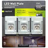 Capstone Lighting Technologies LED Wall Plate - 3 pack