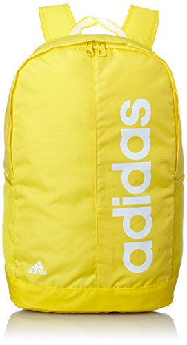 adidas Linear Performance Backpack Zaino, giallo