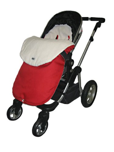 Stroller Snuggle Bag-waterproof-red - 1