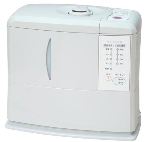 【Amazonの商品情報へ】TOYOTOMI トヨトミ ハイブリッド加湿器 ホワイト THV-A41(W)