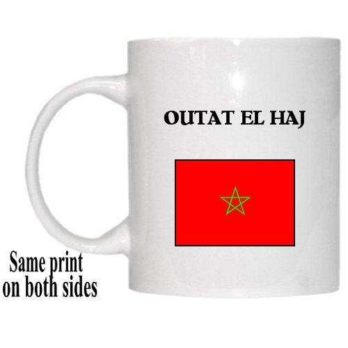 "Amazon.com: Morocco - ""OUTAT EL HAJ"" Mug: Kitchen & Dining"