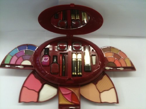 Make Up Kit inc Eyeshadow, Blusher, Powder, Lipgloss, Mascara, Nail Polish, Lipstick, Lip Liner , Eyeliner and Sharpener.