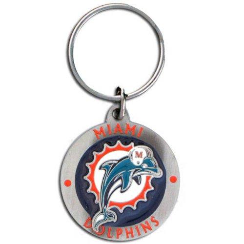 Nfl Key Ring - Miami Dolphins Logo Nfl Key Ring - Miami Dolphins Logo