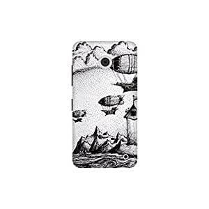 The Racoon Lean Pirates of The Black Rock hard plastic printed back case / cover for Nokia Lumia 630