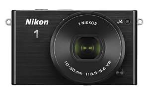Nikon 1 J4 Digital Camera with 1 NIKKOR 10-30mm f/3.5-5.6 PD Zoom Lens (Black) (Discontinued by Manufacturer)