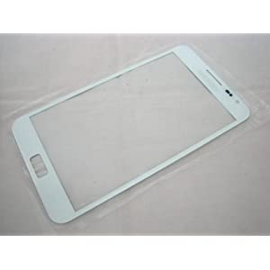 Samsung Galaxy Note i9220 GT-N7000 White Front Glass (LCD Display and