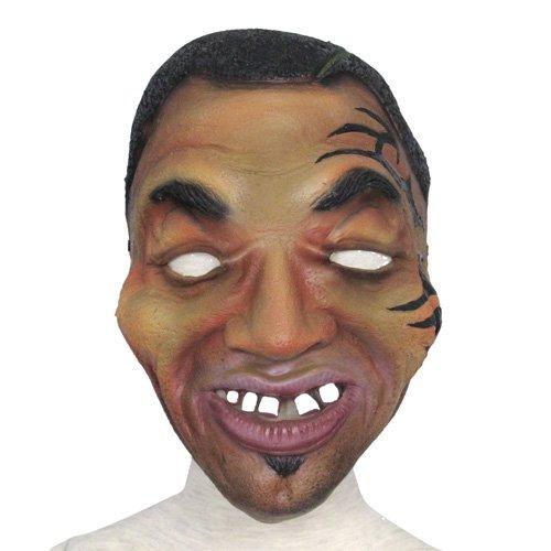 ハロウィン マスク 仮面 パーティーやイベント マイク·タイソン ホラーマスク(6447-26)