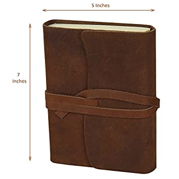 Handmade Medium Vintage Leather Journal Diary