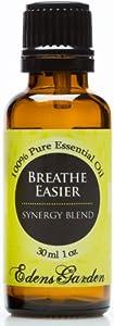Breathe Easier Synergy Blend Essential Oil- 30 ml (Peppermint, Rosemary, Lemon & Eucalyptus