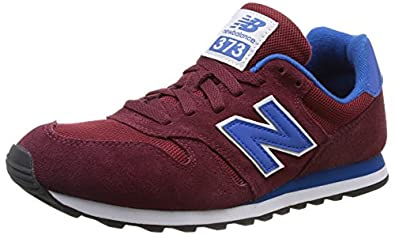 New Balance Men's M373 Classic Running Shoe,Red/Blue,11 D US