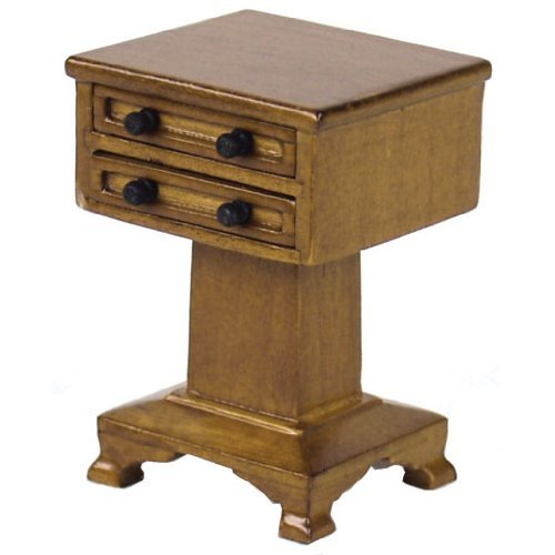 Dollhouse Miniature The Lincoln End Table - 1