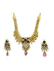 Silver Point Kundan Jali Work Necklace For Women